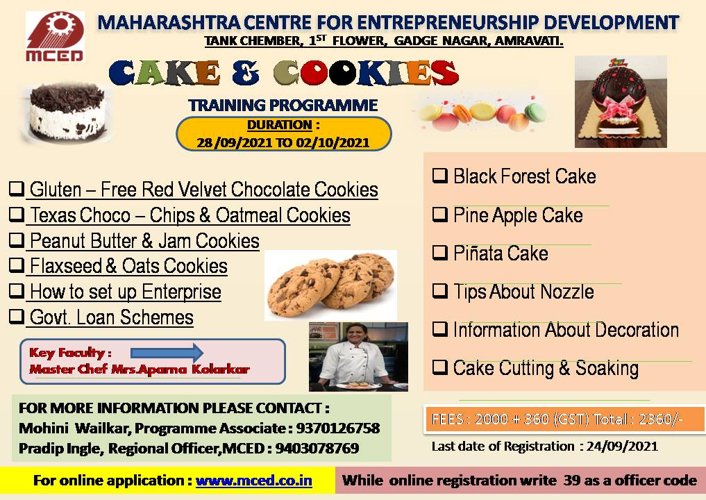 WORKSHOP ON CAKE AND COOKIES